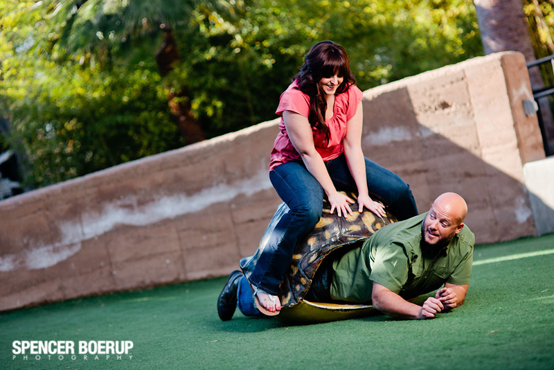 tucson reid park zoo engagement photos wedding arizona harley motorcyle