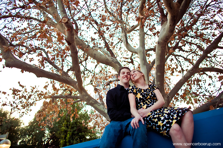 tucson arizona engagement portraits laser tag mini golf funtasticks fun phoenix
