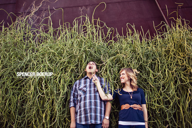 tucson engagement photo university couple love