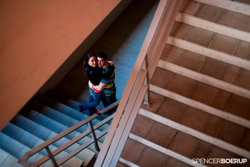 tucson downtown engagement photo session uofa wedding arizona couple