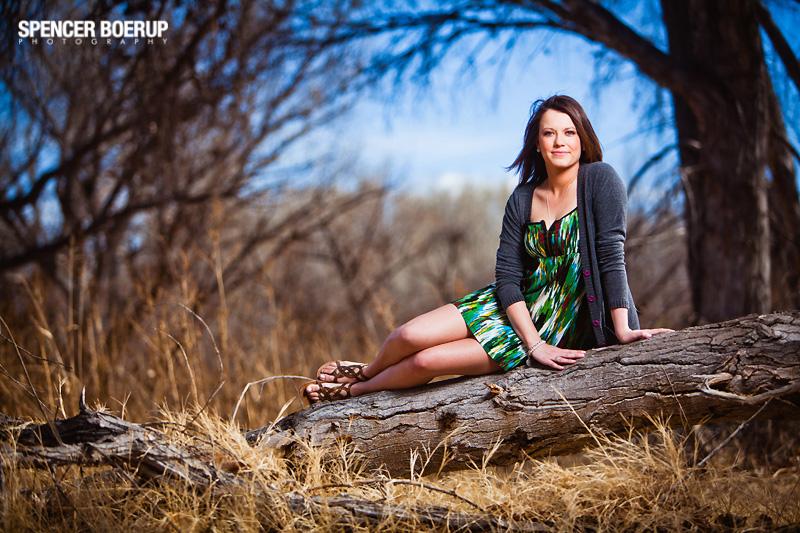 tubac senior portraits arizona woods outdoors nature swing fun inn n out