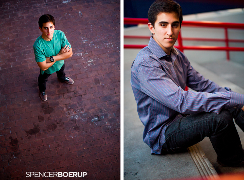 tucson senior portrait photographer male gq model urban downtown