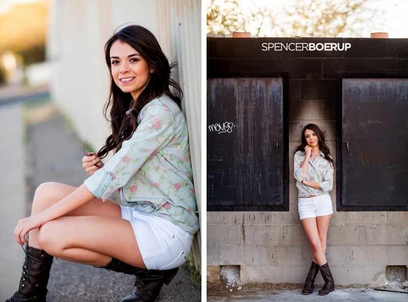 tucson senior portrait twins arizona downtown fashion photographer urban