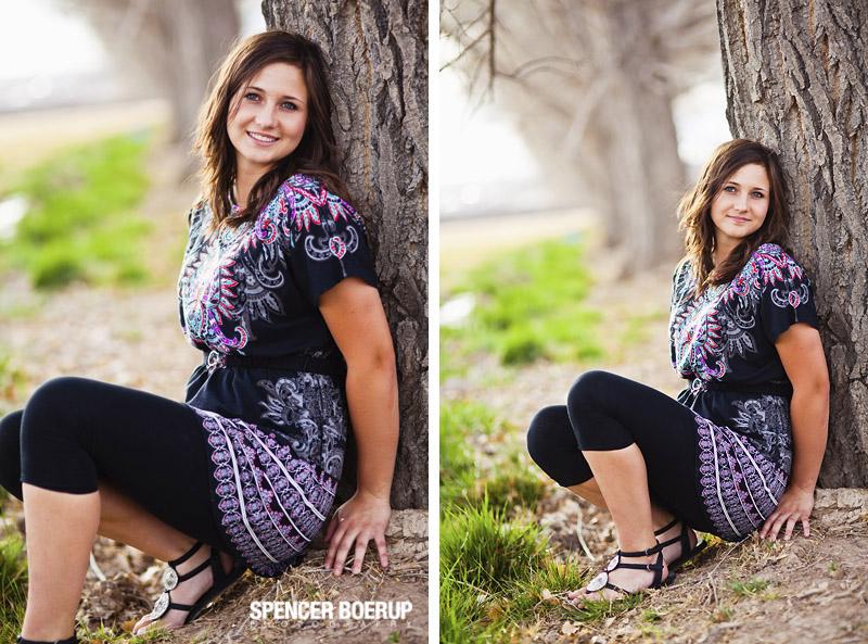 benson rural nature outdoors senior portraits tucson arizona railroad softball