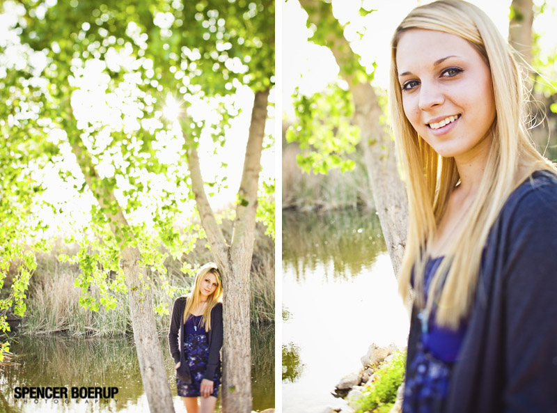tucson senior photos nature lake water downtown urban arizona high school