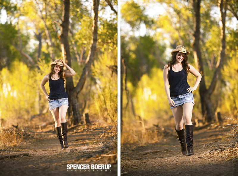 tucson senior photos tubac water nature high school portraits