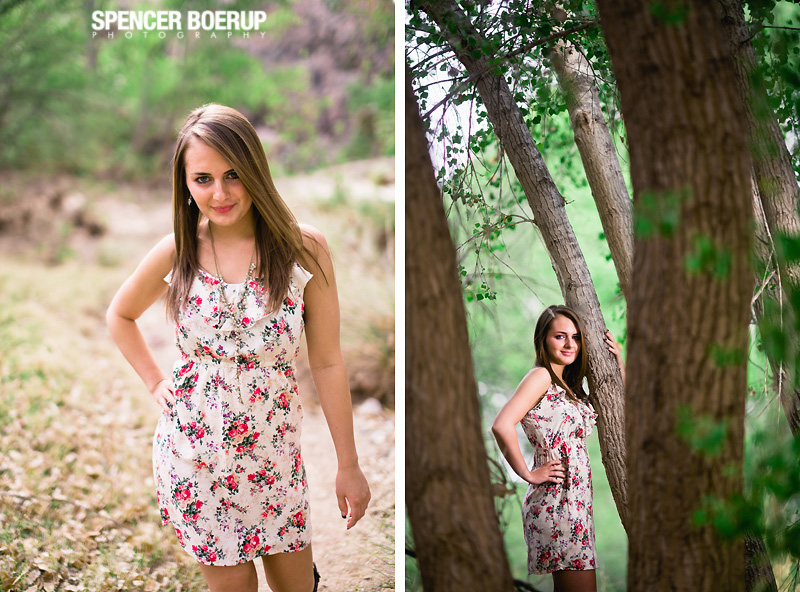 tucson senior photos arizona nature bridge creek downtown urban color model