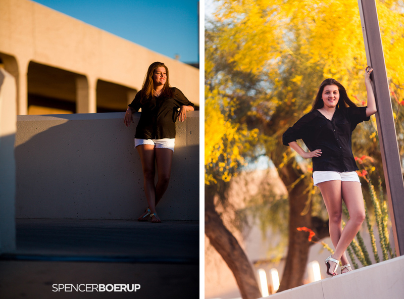 tucson senior portraits arizona nature sabino canyon downtown urban model