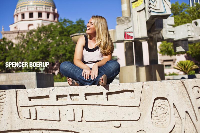tucson downtown arizona senior photos portraits high school urban 4th ave