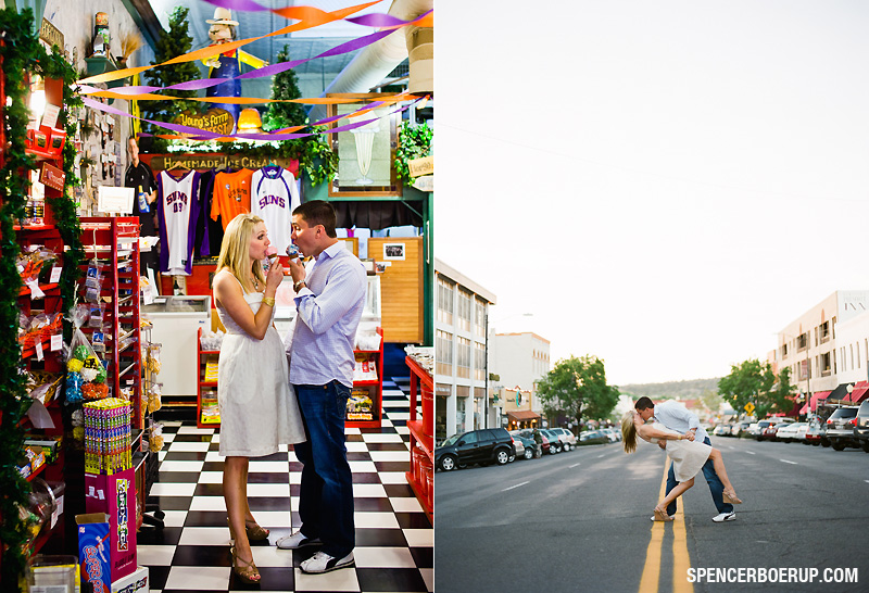 prescott arizona wedding photography engagement portrait