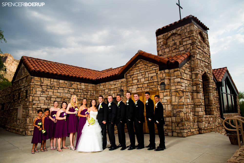 tucson wedding arizona el conquistador resort summer chapel ballroom
