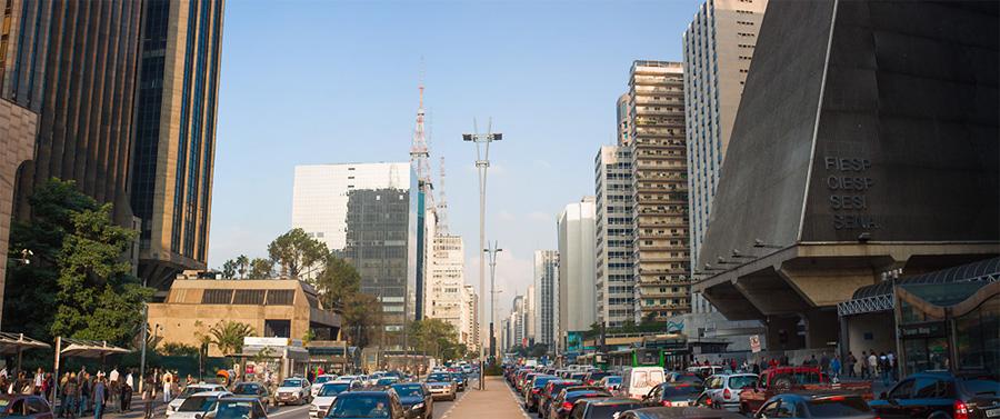 rio de janeiro sao paulo city panoramic