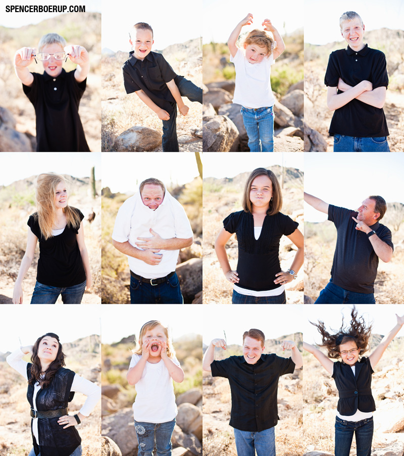 tucson family portraits arizona group desert photographs