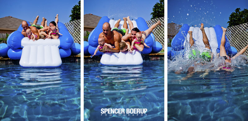 corpus christi portrait photographer family photos beach water fun casual