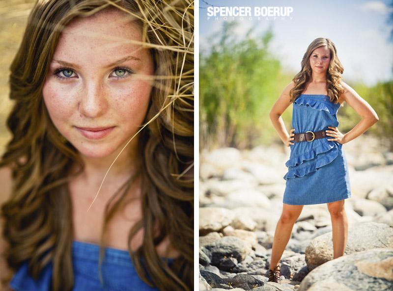 senior photos tucson arizona downtown urban chic model grass sabino canyon summer
