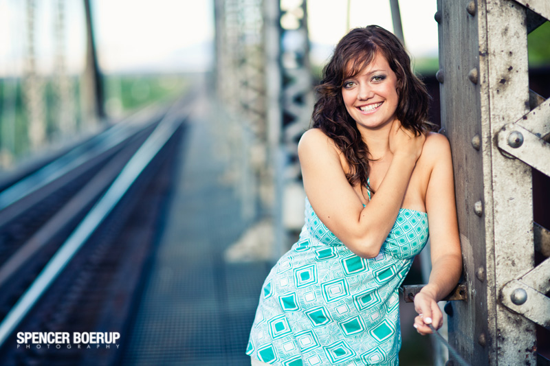 tucson arizona benson senior portrait photography train tracks