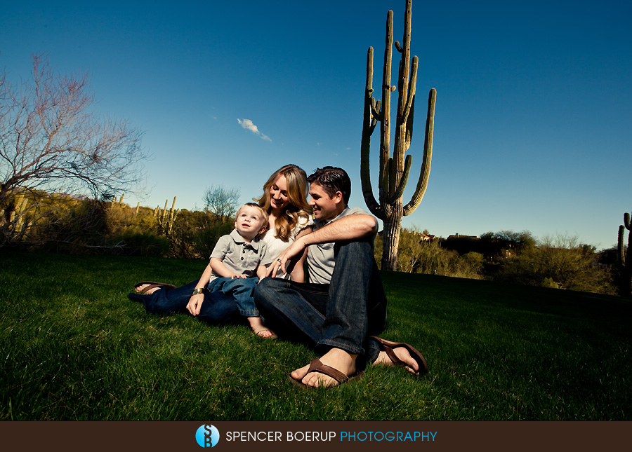 tucson family portraits desert sunset cactus photography