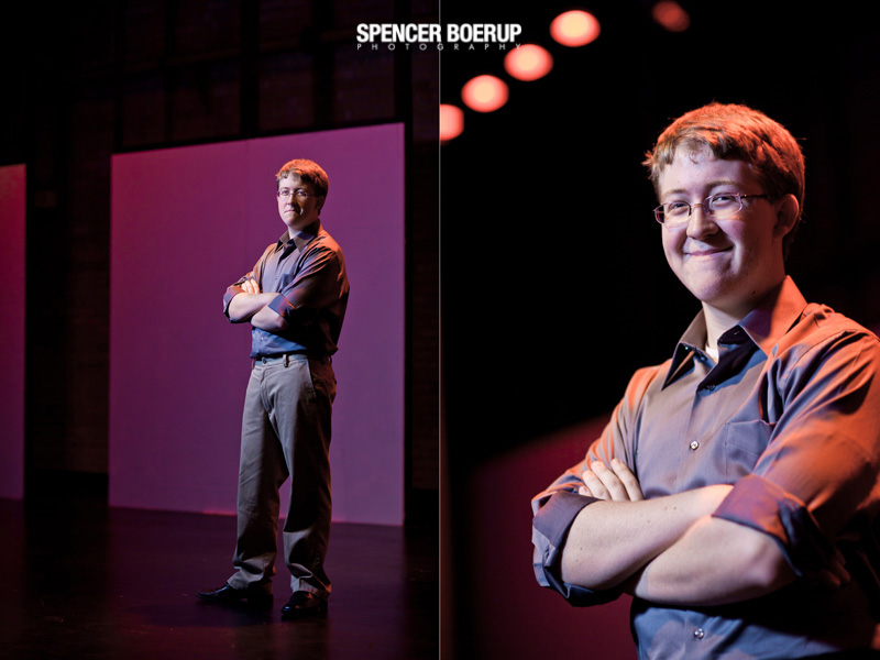 tucson senior photographer sabino high school drama improv actor