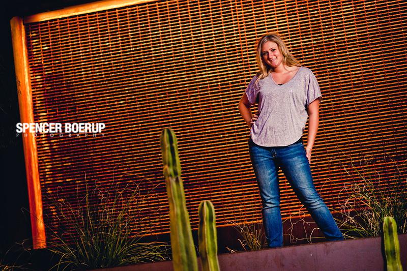 high school senior portrait tucson arizona desert downtown urban garage funky country