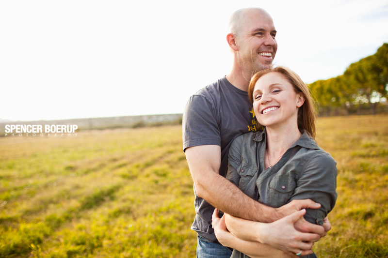 tucson engagement portrait farm rural country field dog photography arizona
