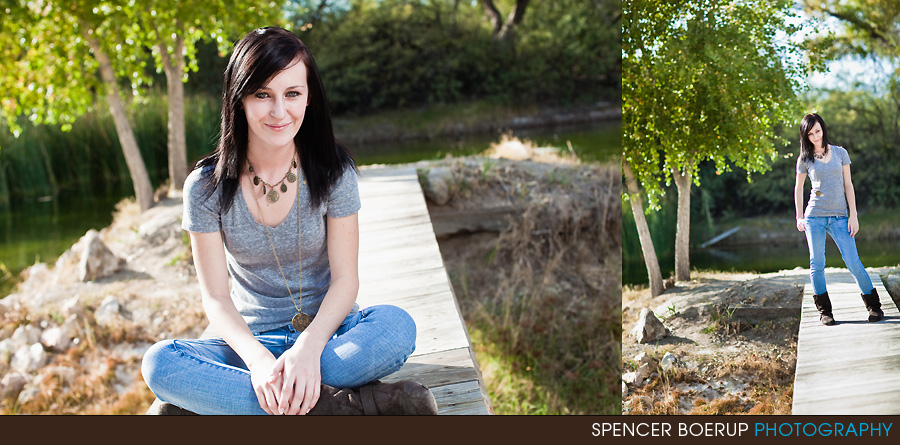 vail tucson senior portrait pictures downtown tanque verde guest ranch HS