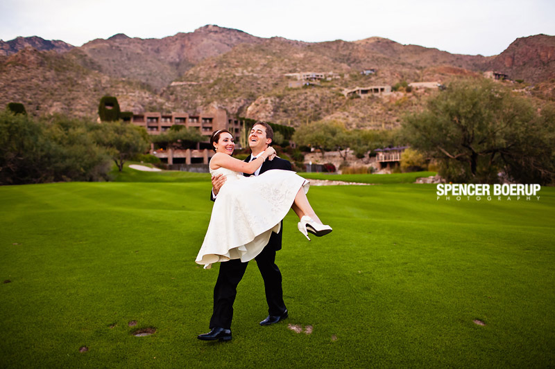 tucson ventana canyon resort wedding arizona short dress black tie