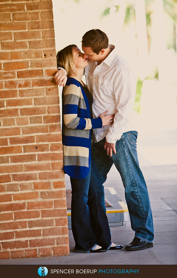 tucson downtown engagement portraits wedding