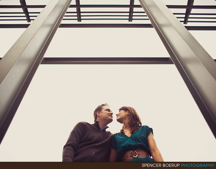 tucson arizona engagement portraits university ua airport fun awesome